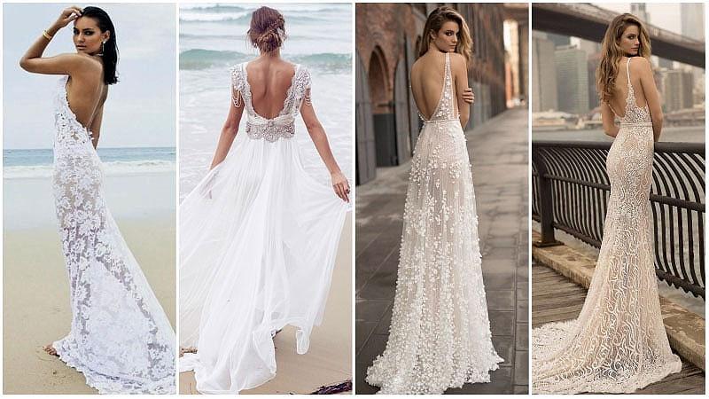 Simple Wedding Dress Inelly Beach Wedding By: Vestidos De Noiva Para Casamento Na Praia