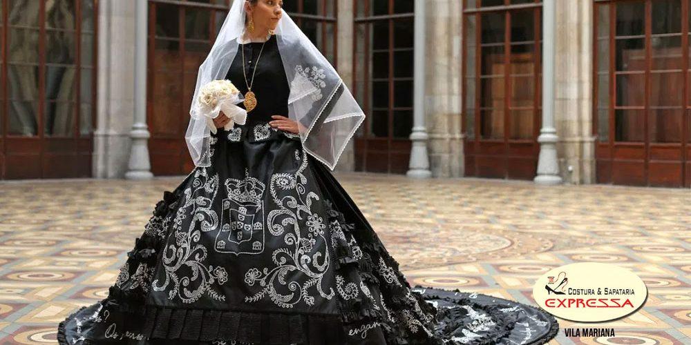 Vestidos De Casamento Preto Para Noivas Modernas Costura